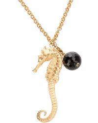 Bex Rox | Metallic Seahorse Necklace | Lyst