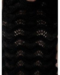 KENZO Black Crochet Vest