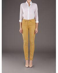 Neuw Yellow Highwaist Skinny Jean