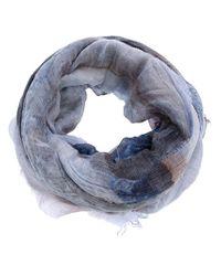Faliero Sarti Blue Fish Scarf
