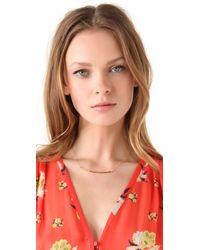 Gorjana | Metallic Taner Shimmer Necklace | Lyst