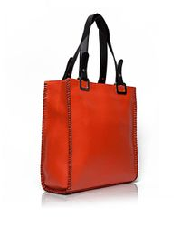 Aftershock Orange Betty Tote Bag