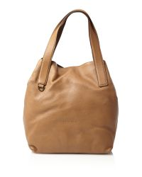 Coccinelle Brown Camel Mila Hobo Bag