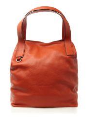Coccinelle Orange Medium Hobo Bag