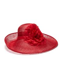 Hobbs Red Flora Hat