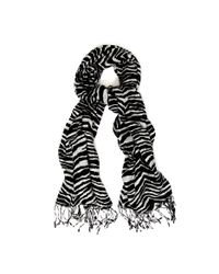Hobbs Multicolor Zebra Print Scarf