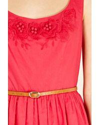 Oasis Pink Flower Detail Sundress