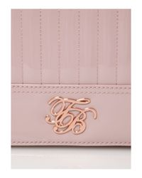 Ted Baker Pink Quilted Clutch Bag