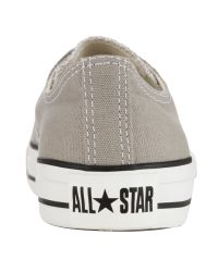 Converse Gray Converse Chuck Taylor Low Trainers Elephant Grey