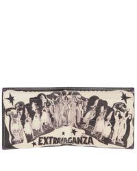 Paul Smith Black Extravaganza Print Billfold Wallet for men