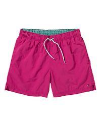 Tommy Hilfiger Tommy Hilfiger Solid Swim Shorts Pink for men