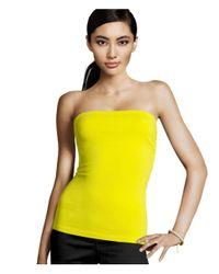 H&M Yellow Tube Top
