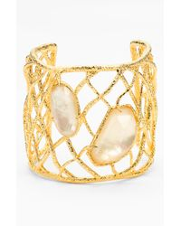 Alexis Bittar | Metallic Elements Multi-stone Tennis Bracelet | Lyst