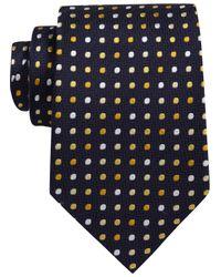 Austin Reed Blue Navy Base Gold Stripe Tie for men
