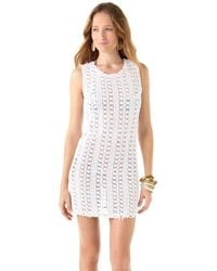 Free People | White Thrifty Eyes Dress | Lyst