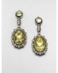 Konstantino | Metallic Semiprecious Multistone Sterling Silver Drop Earrings | Lyst