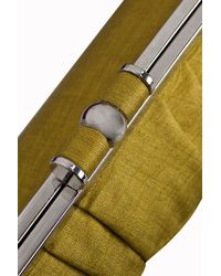 Minuet Petite Green Yellow Pleat Bag