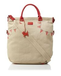 Radley Natural Union Jack Bunting Large Ns Tote