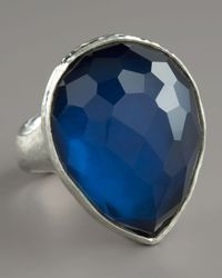 Ippolita | Blue Teardrop Ring Large | Lyst