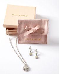Judith Ripka - Metallic Athena Pave Necklace - Lyst