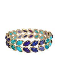 Kendra Scott | Metallic Athena Ombre Bracelet | Lyst