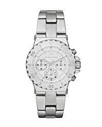Michael Kors | Silver Mini Bel-air Watch, Stainless Steel | Lyst