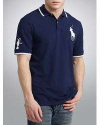 Polo Ralph Lauren Blue Pro Fit Polo Shirt French Navy for men
