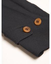 Comme des Garçons Black Double Twill Cloth Long Coat for men