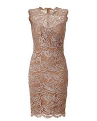 Emilio Pucci - Natural Pearl Lace Dress - Lyst