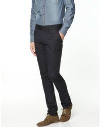 Zara | Blue Slim Comfort Chinos for Men | Lyst