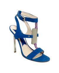 Boutique 9 Blue Detective Sandals