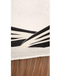 Eugenia Kim | White Ivory Panama Fedora | Lyst