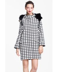 Marni | Beige Edition Check Print Coat | Lyst