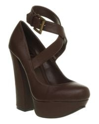 Office Arch Enemy Dbrown Leather