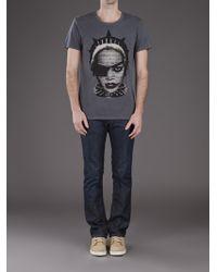 Reception Gray Rihanna Tshirt for men