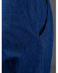 Societe Anonyme - Blue Unisex Denim Jogging Trouser for Men - Lyst
