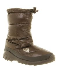 The North Face Wmns Nuptse Bootie Iii Shiny Brown