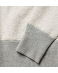 YMC - Gray Loopback Cottonjersey Sweatshirt for Men - Lyst