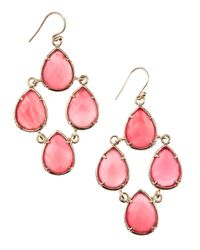 Kendra Scott | Metallic Carlone Chandelier Earrings | Lyst
