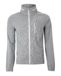 Nike Gray Zip Through Wind Cheater for men