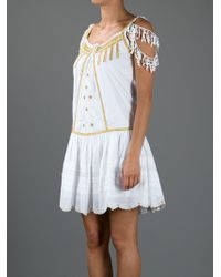 Las Noches Ibiza White Dress