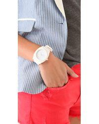 Nixon | White Time Teller P Watch | Lyst