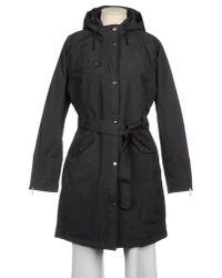 The North Face Black Kiara Hooded Faur-Fur-Trim Puffer Parka
