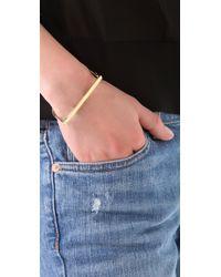A.L.C. | Metallic Thin Handcuff Bracelet | Lyst
