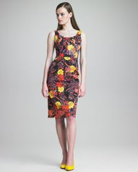 Erdem | Multicolor Edith Fitted Tank Dress | Lyst