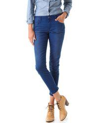 Joe's Jeans   Blue Rolled High Water Jeans   Lyst