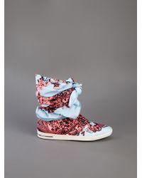 Judari Blue Sasha Kneehigh Sneakers