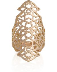 Repossi - Metallic Maure 18karat Rose Gold Ring - Lyst