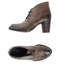 Alberto Fermani | Brown Lace-up Ankle Boot | Lyst