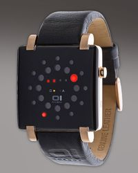 01 The One Watches | Black Gamma Ray Binary Watch for Men | Lyst
